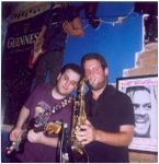 Live at Mike's Place Tel-Aviv with Yotam Ronen on Tenor Sax