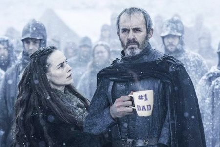 Stannis in one of his famous family barbecues