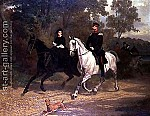 A-Lady-And-An-Officer,-Possibly-Crown-Prince-And-Princess-Of-Prussia,-Riding-In-A-Park.jpg